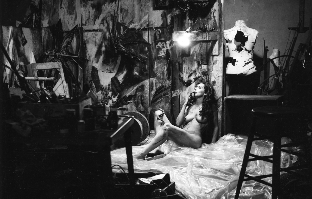 Carolee Schneeman, Painting - What It Became