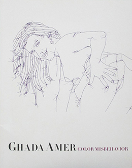 Ghada Amer: Color Misbehavior Cover
